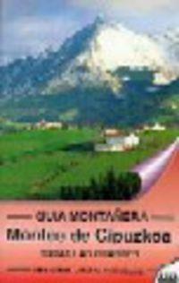MONTES DE GIPUZKOA