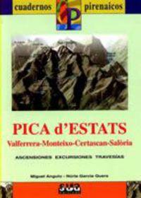PICA D'ESTATS (LIBRO+MAPA)  (CATALÁ)