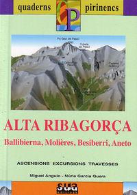 ALTA RIBAGOR€A (LIBRO+MAPA)  (CATALÁ)