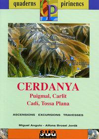 CERDANYA (LIBRO+MAPA)  (CATALÁ)