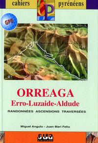 ORREAGA, ERRO, LUZAIDE, ALDUDE (LIBRO+MAPA GPS)  - FRANCAISE