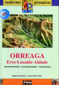 ORREAGA, ERRO, LUZAIDE, ALDUDE (LIBRO+MAPA GPS)