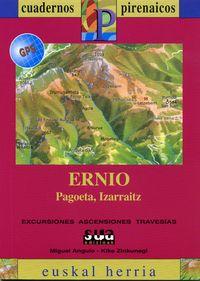ERNIO, PAGOETA, IZARRAITZ (+MAPA GPS)