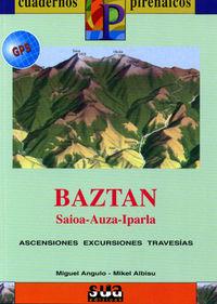 BAZTAN (LIBRO+MAPA GPS)