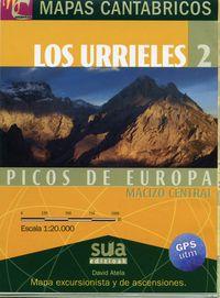 MAPAS CANTABRICOS - LOS URRIELES 2
