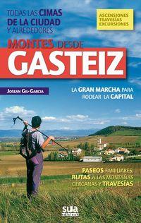 MONTES DESDE GASTEIZ