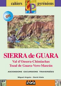 SIERRA DE GUARA (LIBRO+MAPA GPS)  - FRANCAISE