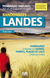 RANDONNEES A TRAVERS LES LANDES