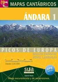 MAPAS CANTABRICOS - ANDARA 1