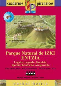PARQUE NATURAL DE IZKI ENTZIA (+MAPA GPS)
