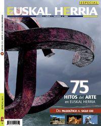 75 HITOS DEL ARTE EN EUSKAL HERRIA (EUSKAL HERRIA MAGICA 9)