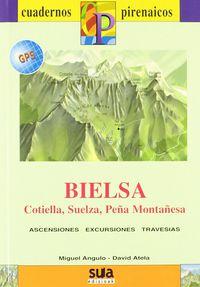 BIELSA, COTIELLA, SUELZA, PEÑA MONTAÑESA (LIBRO+MAPA GPS)
