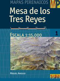 MESA DE LOS TRES REYES (MAPAS PIRENAICOS)