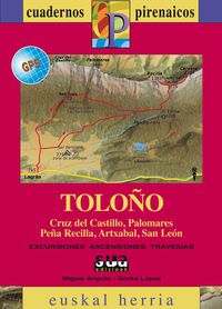 TOLOÑO (+MAPA GPS)  - CUADERNOS PIRENAICOS