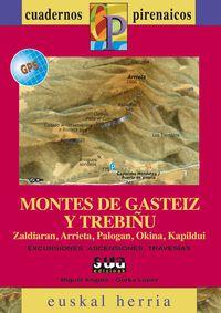 MONTES DE GASTEIZ Y TREBIÑU (+MAPA GPS)  - CUADERNOS PIRENAICOS