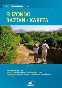 ELIZONDO-BAZTAN-XARETA *** UNA SEMANA EN. ..