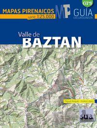VALLE DE BAZTAN - MAPAS PIRENAICOS (1: 25000)