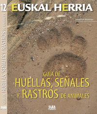 GUIA DE HUELLAS, SEÑALES Y RASTROS DE ANIMALES
