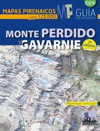 (2ª ED. )  MONTE PERDIDO Y GAVARNIE - MAPAS PIRENAICOS (1: 25000)