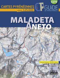 MALADETA-ANETO - MAPAS PIRENAICOS (1: 25000)