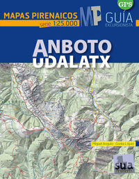ANBOTO-UDALATX - MAPAS PIRENAICOS (1: 25000)