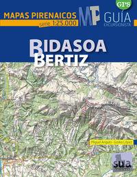 BIDASOA-BERTIZ - MAPAS PIRENAICOS (1: 25000