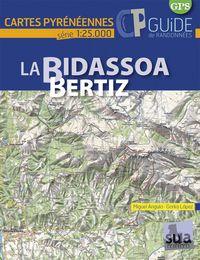 LA BIDASSOA-BERTIZ - CARTES PYRENEENNES (1: 25000)