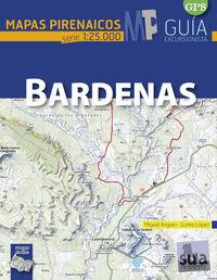 BARDENAS - MAPAS PIRENAICOS (1: 25000)