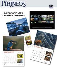 CALENDARIO 2019 EL MUNDO DE LOS PIRINEOS EGUTEGIA