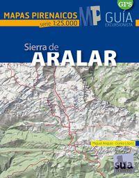 ARALAR - MAPAS PIRENAICOS (1: 25000)